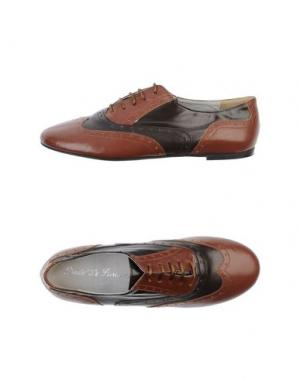Обувь на шнурках DODO' LE PARISIENNE. Цвет: коричневый