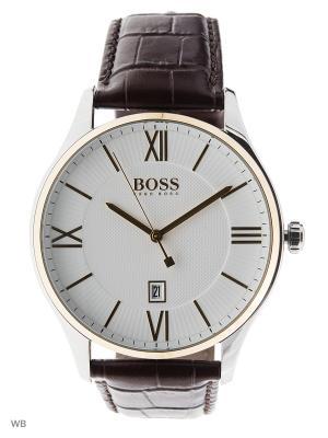 Часы HUGO BOSS. Цвет: серебристый, золотистый