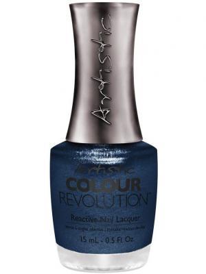 Лак для ногтей 050 NO TAMING MY TWINKLE Недельный лак,15 мл (HOLIDAY16) Artistic Revolution. Цвет: синий