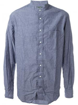 Рубашка из шамбре Gitman Vintage. Цвет: синий