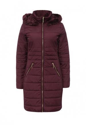 Куртка утепленная Top Secret. Цвет: бордовый