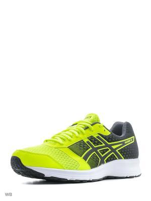 Спортивная обувь PATRIOT 8 ASICS. Цвет: салатовый, черный, белый