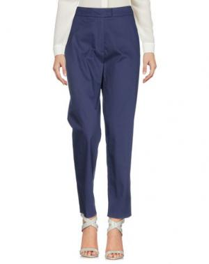 Повседневные брюки CACHAREL. Цвет: темно-синий
