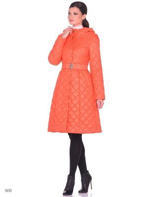 Пальто Престиж-Р. Цвет: оранжевый