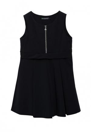 Платье Cleverly. Цвет: синий