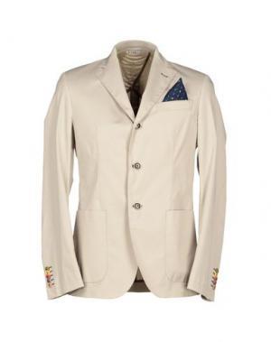 Пиджак MANUEL RITZ. Цвет: светло-серый