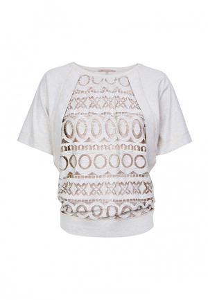 Блуза LO. Цвет: серый