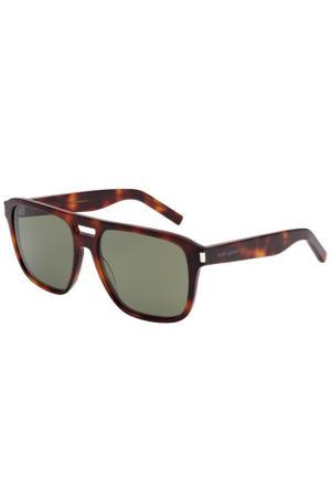 Солнцезащитные очки Saint Laurent Paris. Цвет: 003