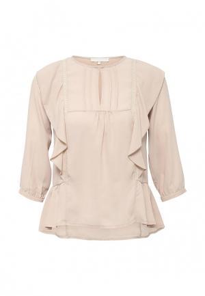 Блуза NewLily. Цвет: бежевый