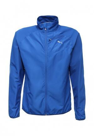 Куртка PUMA. Цвет: синий