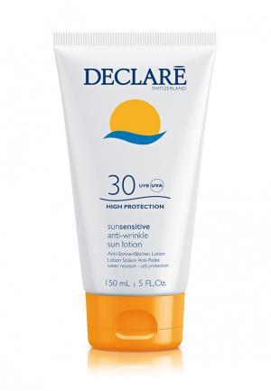 Солнцезащитный лосьон SPF 30 с омолаживающим действием Declare. Цвет: белый