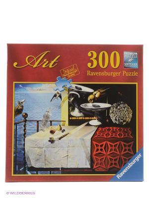 Пазл Дали. Живой натюрморт  300шт Ravensburger. Цвет: серо-голубой