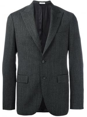 Пиджак с карманами клапанами Boglioli. Цвет: серый