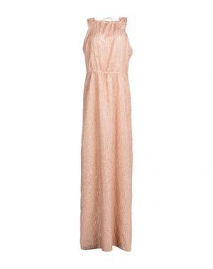 Длинное платье INTROPIA. Цвет: платиновый