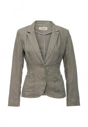 Пиджак Kookai. Цвет: серый