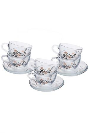 Чайный набор, 6 персон Pasabahce. Цвет: мультицвет