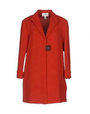 Легкое пальто JOSEPH RIBKOFF. Цвет: ржаво-коричневый