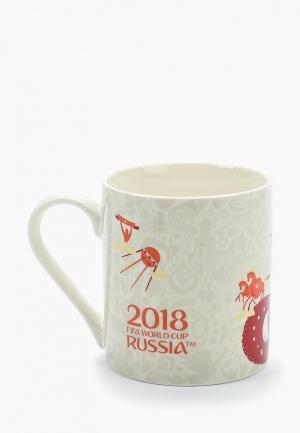 Кружка 2018 FIFA World Cup Russia™. Цвет: бежевый