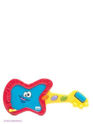 Игрушка Мини-гитара Kidz Delight. Цвет: красный, желтый, синий