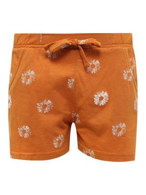 Шорты Finn Flare. Цвет: оранжевый