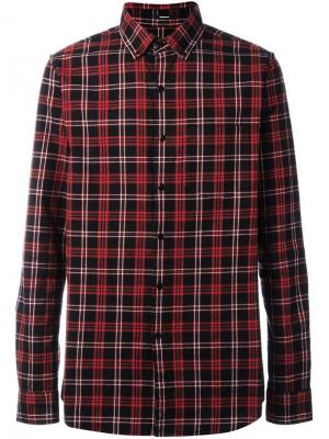 Рубашка Pocket Brushed Flannel Denham. Цвет: красный