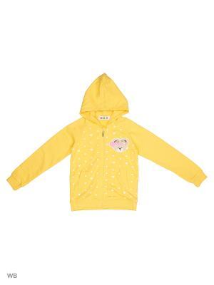 Толстовка Kidly. Цвет: желтый