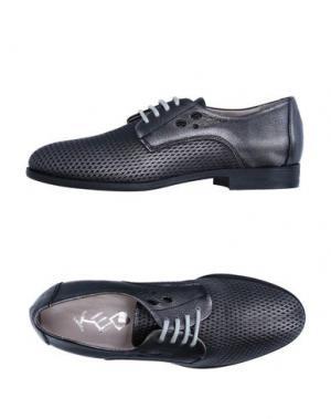 Обувь на шнурках KEB. Цвет: свинцово-серый