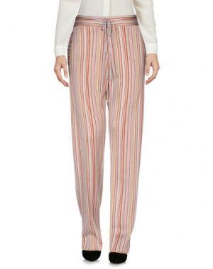 Повседневные брюки MARCO DE VINCENZO. Цвет: светло-серый