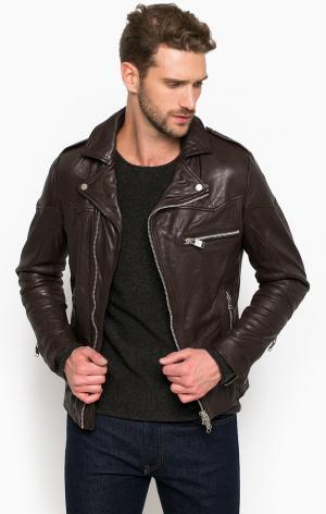Куртка DRYKORN. Цвет: коричневый