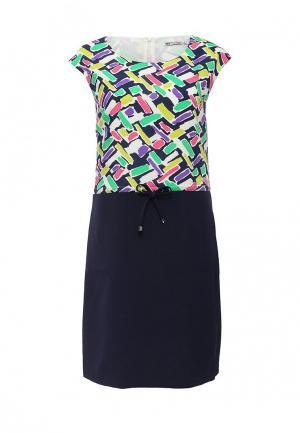 Платье F5. Цвет: разноцветный
