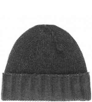 Серая шерстяная шапка CANADIAN. Цвет: серый