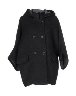 Пальто HOPE COLLECTION. Цвет: свинцово-серый