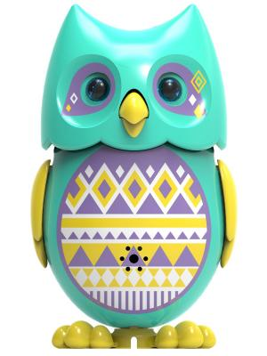 Сова с кольцом, голубая желтыми крыльями Silverlit. Цвет: голубой, желтый