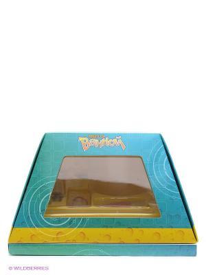 Опыты в ванной Научная пирамида. Цвет: бирюзовый, желтый