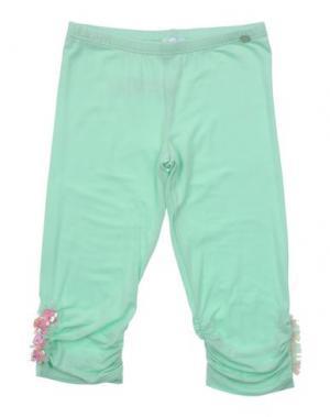 Повседневные брюки MICROBE. Цвет: светло-зеленый