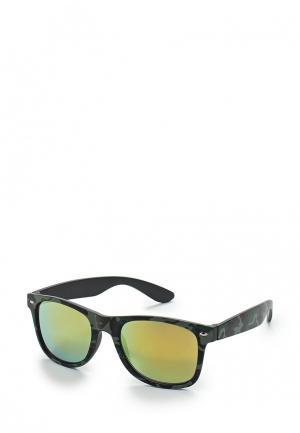 Очки солнцезащитные Modis. Цвет: хаки