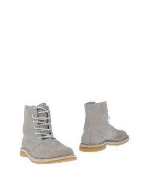 Полусапоги и высокие ботинки DIEMME. Цвет: светло-серый