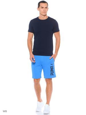Шорты STYLE SUMMER Sweat Shorts TR Puma. Цвет: лазурный