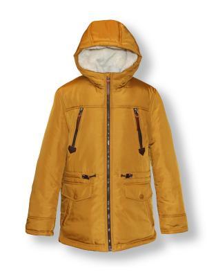 Куртка Артус. Цвет: светло-оранжевый