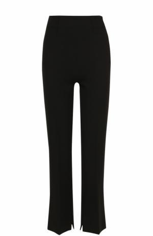 Укороченные расклешенные брюки со стрелками Roland Mouret. Цвет: черный