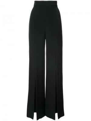 Широкие брюки Cushnie Et Ochs. Цвет: чёрный