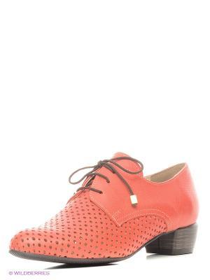 Ботинки Conhpol. Цвет: коралловый