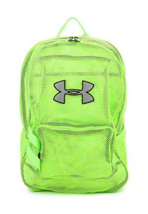 Рюкзак Under Armour. Цвет: зеленый