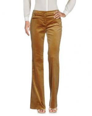Повседневные брюки TRUE ROYAL. Цвет: верблюжий