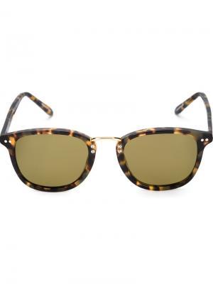 Солнцезащитные очки Franklin Krewe Du Optic. Цвет: чёрный
