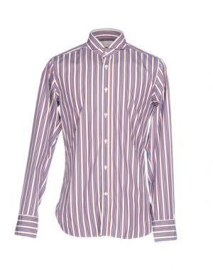 Pубашка GUGLIELMINOTTI. Цвет: баклажанный