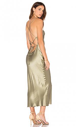 Платье amazonite BEC&BRIDGE. Цвет: зеленый