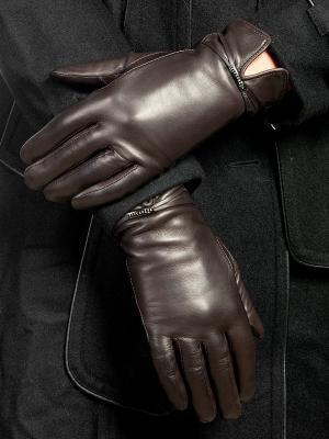 Перчатки Eleganzza. Цвет: антрацитовый