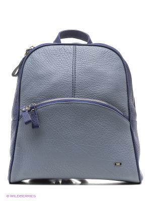 Рюкзак Esse. Цвет: голубой, синий