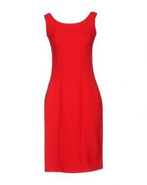 Короткое платье FISICO. Цвет: красный